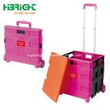 2 Rodas Carrinho Dolly portátil carrinho de mão para a sala, viajando, Compras, movendo e uso no escritório