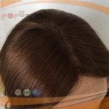 Peruca médica superior de seda do cabelo humano do Virgin (PPG-l-0825)