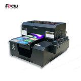 Mini impresora de inyección de tinta plana de la impresora A4 de Coroplast para la bolsa de plástico
