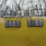 Balai de charbon normal et argenté d'AG20/LFC554 de graphite pour la centrale