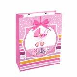 Diseño encantador para la ropa del bebé que empaqueta las bolsas de papel laminadas aduana