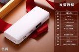 cadeau duel de chargeur de batterie de Portable du modèle universel USB 18650 de recul de côté de l'alimentation externe 13000mAh