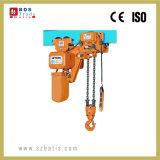 Elevador eléctrico de velocidade única talha de corrente com grau de trabalho M5