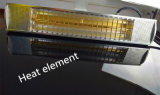 2500 Вт пульт дистанционного управления электрическим кварцевой трубки патио инфракрасные обогреватели