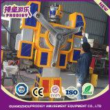 Macchina di divertimento di giro dei capretti dell'uomo del ferro di figura del robot di brevetto
