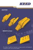 小松D375モデル砂型で作るブルドーザーの端は195-71-61930をかんだ