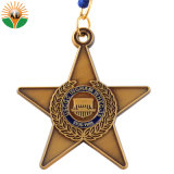 Die Casting High Quality Metal Memory Medal with Ribbon