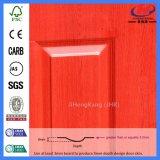 Естественная Laminate кожа двери меламина Mouded HDF деревянная