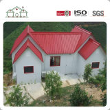 中国のプレハブの鉄骨フレームの家および鉄骨構造の建物デザイン別荘