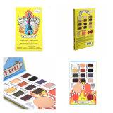 Теней Pallete+2 цвета основы+2 цвета Lip gloss наборы для макияжа