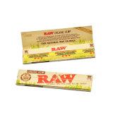 110mm 50 folletos/caja de papel de rodadura de Raw del cáñamo sabor sabor a tabaco de papel de malezas con pantalla de verificación