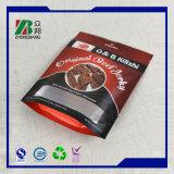 Пластиковый мешок рывками из говядины/сушеного мяса упаковочный мешок/подушки безопасности продуктов питания