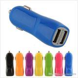 Wholesales дешевые много цветов выбор утка форму двойной автомобильное зарядное устройство 5V 2.1A