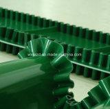 Bande de conveyeur en gros de PVC avec le déflecteur pour l'industrie des emballages