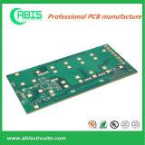 PCB de 4 camadas para telemóvel, 0,08 mm mín espaço de Linha