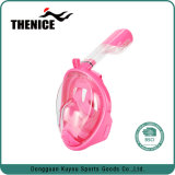 Face completo nevoeiro Anti máscara de mergulho mergulho snorkel 2 em 1 para Gopro