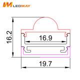 Aluminiumstreifen-Licht-Profil der strangpresßling-12mm breites verdrängtes LED des Gehäuse-LED