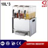 飲み物3タンク(GRT-DLRYJ10L*3)を保つための感動的な飲料ディスペンサー