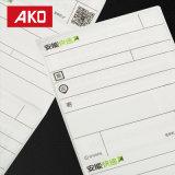 Kohlenstoff-freie wasserdichte weiße Pergamin-Zwischenlage-Etikett-Verschiffen-Papierkennsätze