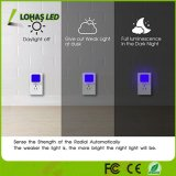 Nuovo 0.3 indicatori luminosi verde blu di notte del sensore di movimento della lampadina di W LED per il corridoio della toletta della camera da letto