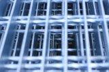 Rejilla de acero galvanizado para escaleras o plataforma.