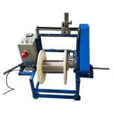 Procedimiento que se endereza del alambre que tuerce el eje de rotación de la máquina que tuerce la cintura