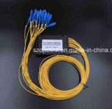 Разъем Scupc Splitter PLC пластичной коробки Gpon Epon 1X16 кабеля волокна