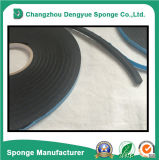 Tira flexible del lacre de la cinta auta-adhesivo del ajuste de la espuma
