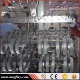 Macchina di tipo continuo Chain di granigliatura del gancio/Abrator/strumentazione pulizia del metallo