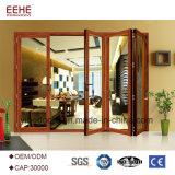 Отличное качество складные двери алюминиевые рамы задней двери