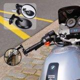 """De achter ZijSpiegel van de Mening om het havik-Oog van het Eind van de Staaf de Convexe Spiegel van de Motorfiets voor Staven van 7/8 de """" Handvat past de Meeste Kruisers van Harley Davidsons Suzuki Honda Kawasaki"""
