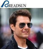Les lunettes de soleil classiques unisexes populaires les plus neuves d'acier inoxydable en métal