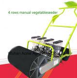 4個の列の手動にんじんのビートのタマネギのほうれんそうのキャベツプランター野菜の種取り機