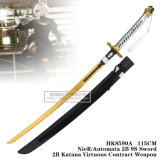 Nier: Оружие 115cm подряда автоматонов 2b 9s Sword2b Katana добродетельное