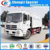 Clw Dongfeng 4X2 14 CBM Kingrunの圧縮のコンパクターのごみ収集車