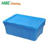 El uso del almacenamiento logístico de plástico Tote Caja con tapa