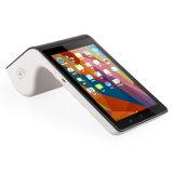 Caja Registradora de Tablet PC PDA PT7003 el escáner de códigos de barras y la Impresora Térmica de 4G WiFi Bluetooth en una sola terminal POS