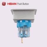 Interruttore di pulsante di plastica in start-stop d'aggancio momentaneo rettangolare di Hban