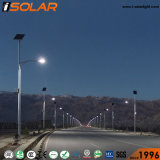 Diseño de la última gran cantidad de lúmenes 100W 8m de luz solar calle