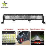 4 Fileiras 12D PI68 Jeep Offroad veículo levou a luz em trilhas 20 polegadas 50000 Lumen Aurora Carro Barra de luz LED