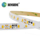 Blanco cálido PCBA Samsung Epistar LED SMD5630 tira en 15W/M