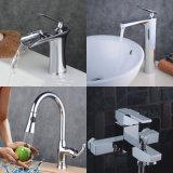 新しいデザイン浴室の滝の真鍮の洗面所の洗面器の台所浴槽水シャワーのコック