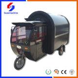 식사 판매에 사용되는 전기 세발자전거 간이 식품 손수레