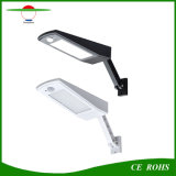 48 LEDs regulables la iluminación exterior Sensor de movimiento de la luz solar para balcón