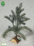 albero di Natale artificiale del PE di 0.3-0.4m per la decorazione - Woodrect & neve S2