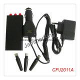 Mini tamaño bolsillo celular Jammer señal GPS/GSM900/1800, Bloqueador celular Jammer red GPS, GSM, CDMA, 3G móvil, GPS Mini Jammer