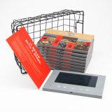 熱い販売の7インチLCD TFTのビデオ挨拶状かビデオ名刺またはビデオパンフレット