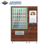 O sistema de elevador de quiosque de Venda Directa dispensar salada com leitor de cartão de crédito