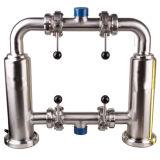 Aço inoxidável sanitárias SS304 SS316L Filtro do tipo Y