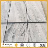 性質の高品質の白い絹の灰色の花こう岩のタイル